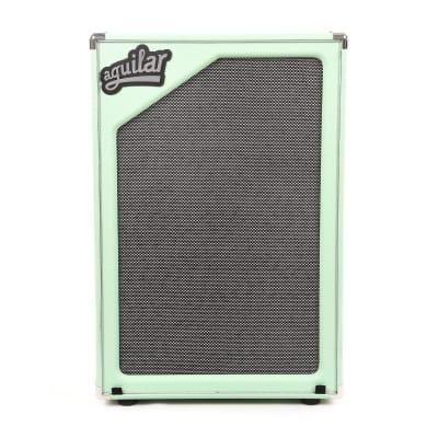 Aguilar Limited Edition SL212 Superlight Bass Cabinet 8 ohm Poseidon Green