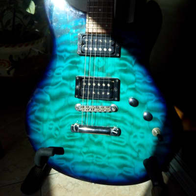Fernandes Dragonfly 2000 Azul ocean burst for sale