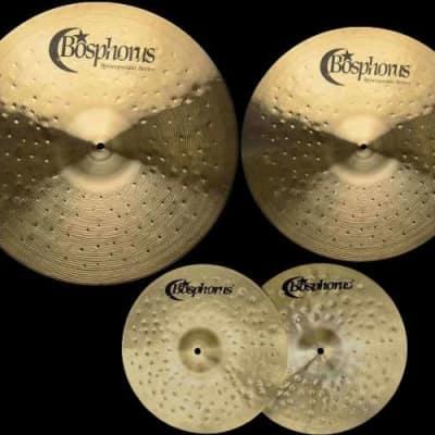 "Bosphorus Syncopation CN3 20"" Ride, 16"" Crash, 14"" Hi-Hat"