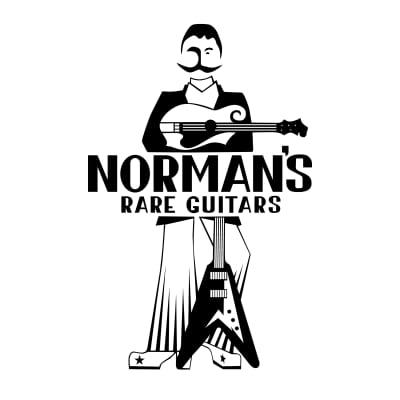 Norman's Logo White XXL