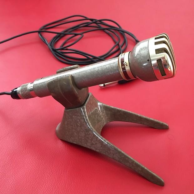 AKG D19 B200 + stand clip + cable - (no Telefunken D19 - D 19) - Vintage  Rare Studio Microphone
