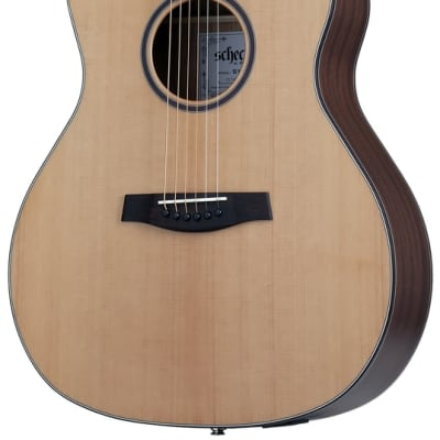 Schecter 3712 Orleans Studio Acoustic Electric Guitar Natural Satin for sale
