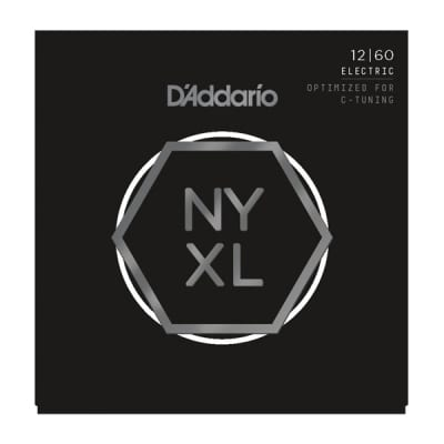 D'addario NYXL Nickel Wound Strings - 12-60
