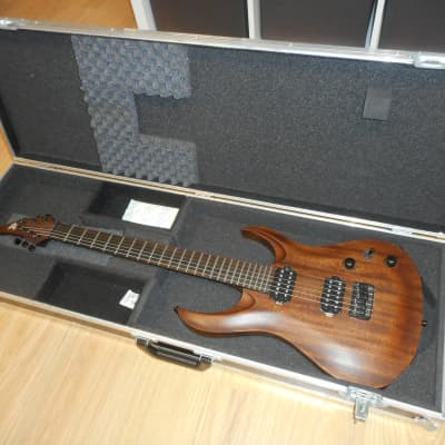 Ran Guitars Crusher 6 Custom with Paco Case and BKP Painkiller for sale
