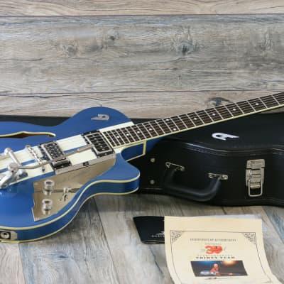 MINTY! 2015 Duesenberg Starplayer TV Mike Campbell Signature Heartbreaker Lake Placid Blue + OHSC for sale