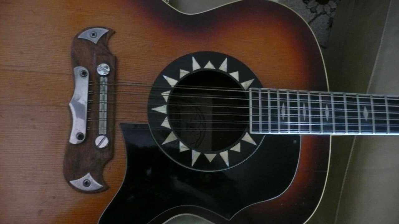 framus 12 string guitar acoustic 59217 1966 2 color sunburst reverb. Black Bedroom Furniture Sets. Home Design Ideas