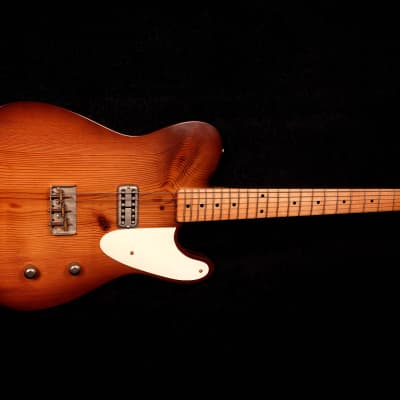 RebelRelic 400 Year Old Pine 2x4  Honey Burst Chambered for sale