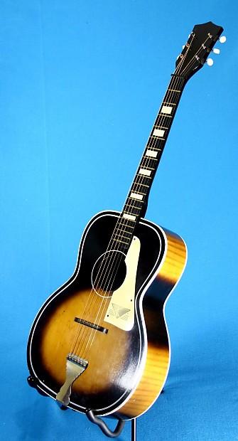 Vintage Kay L9258 Flat Top Acoustic Guitar 1960 S Reverb