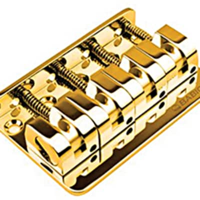 Babicz FCH Z SERIES 4 String Bass Bridge, Gold