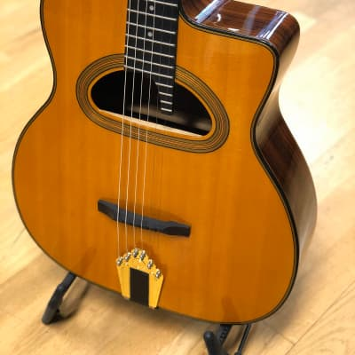 Gitane D-500 Maccaferri Style, D Hole Gypsy Jazz Guitar for sale