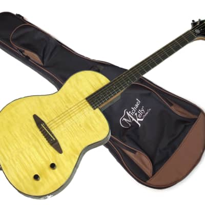 Michael Kelly MKS6FN - Rick Turner S6 Flame new acoustic/electric Guitar w/Gig Bag for sale