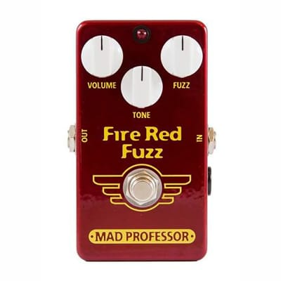 Mad Professor FRF Fire Red Fuzz Guitar Effects Pedal