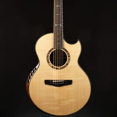 Ryan Nightingale Grand Soloist - African Blackwood & Bear Claw Sitka for sale