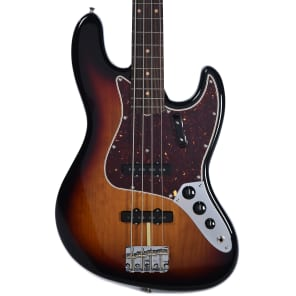Fender American Original '60s Jazz Bass RW 3-Color Sunburst w/Hardshell Case for sale