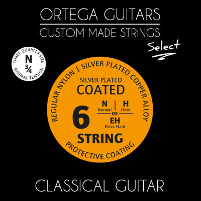 Ortega Ortega Select NYS12N Regular Nylon 3/4 for sale