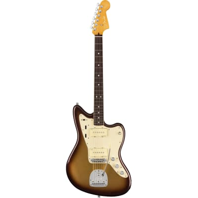 Fender American Ultra Jazzmaster Mocha Burst RW with case for sale