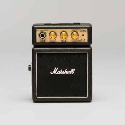 Marshall MS-2 Mini Amp w/ FREE SAME DAY SHIPPING for sale