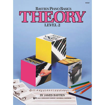 Bastien Piano Basics: Theory - Level 2 by James Bastien (Method Book)