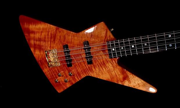 fano explorer viii 8 1989 koa first guitar built by dennis reverb. Black Bedroom Furniture Sets. Home Design Ideas
