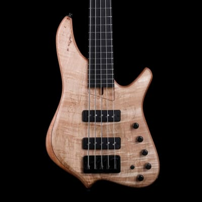 Ash Instruments  DW5 Bolt-on Flamed Spalted Maple Top Natural Satin Price Drop