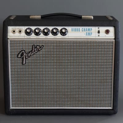 Fender Vibro Champ Drip Edge 1968 Guitar Amplifier