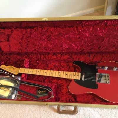 Fender Custom Shop '51 Relic Nocaster Dakota Red 2008 for sale