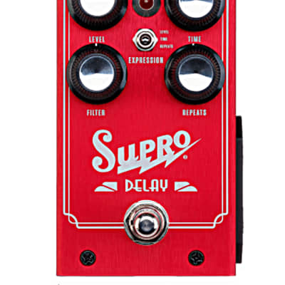 Supro 1313 Delay  Analog Delay Guitar Effects Pedal