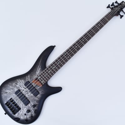 Ibanez SR505 SAT 5 String Electric Bass Silver Arctic for sale