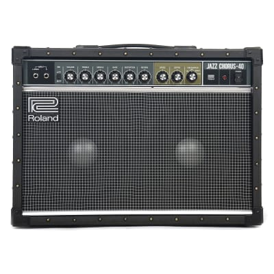 "Roland JC-40 Jazz Chorus 2-Channel 40-Watt 2x10"" Guitar Combo"