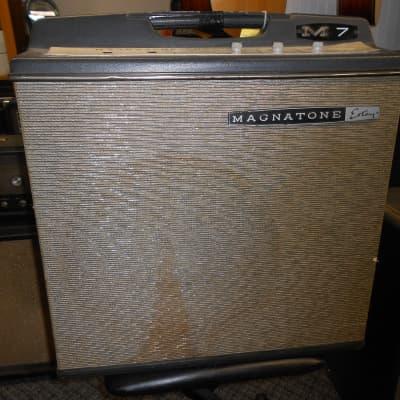 Magatone M7 bass amp 1960's black
