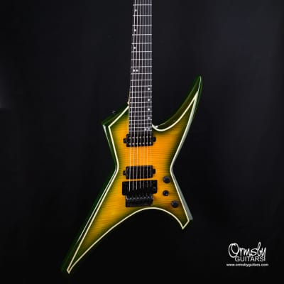 Ormsby B-Stock # 4848 Metal X 7 string - Flame top Exotic 2020 Grold