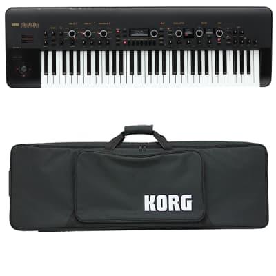 Korg KingKorg Analog Modeling Synthesizer - Black - Carry Bag Kit