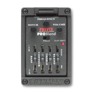 Fishman PRO-MAN-P51 Prefix Pro Blend Preamp - Narrow Format