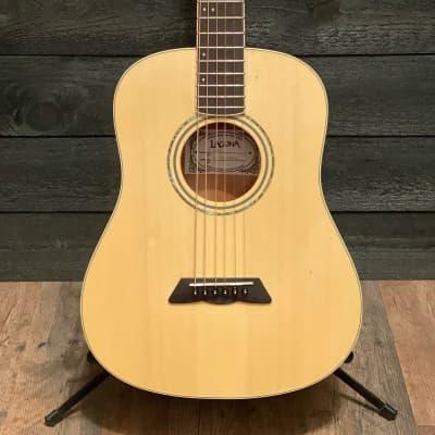 Laguna LD Series LD1 Little Brat 3/4 Acoustic Guitar Natural for sale