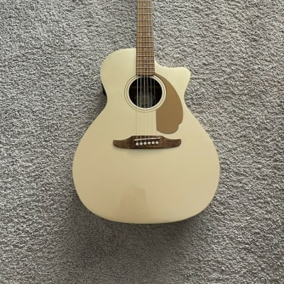 Fender Newporter Player California Series CHP Champagne Acoustic Electric Guitar
