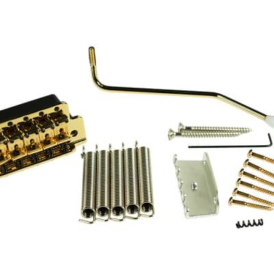 Kluson VINTAGE TREMOLO bridge w/ steel block exact fit for Fender Strat USA KVTSG