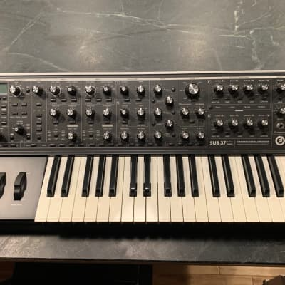 Moog Sub 37 Tribute Edition with Moog-branded case