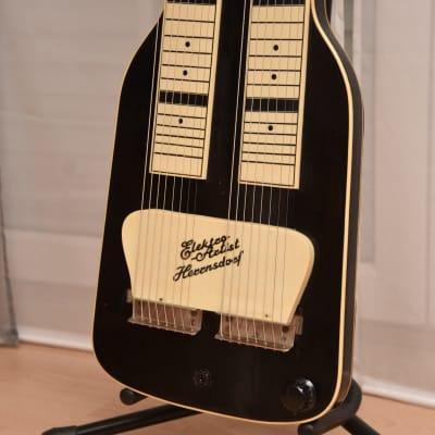 Herrnsdorf Elektro Artist - two neck Lapsteel – 1950s German Vintage Slide / Hawaii Guitar / Gitarre for sale
