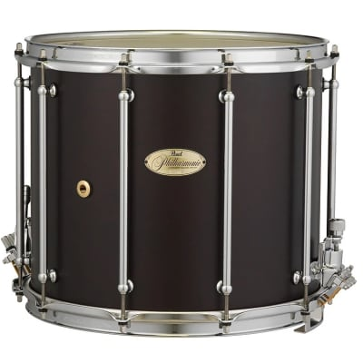 """Pearl PHX1412 Philharmonic 14x12"""" African Mahogany Field Snare Drum"""