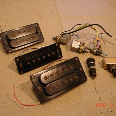 set of matsumoku mmk 45 pickups & electronics from westone spectrum lx hsh