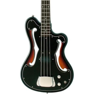 Eastwood Guitars EEB-1 Electric Bass Guitar - Sunburst - Ampeg AEB