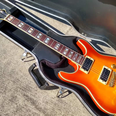 1994 Ibanez GR520 Ghost Rider - Orange Sunburst Finish - Cool Guitar! for sale