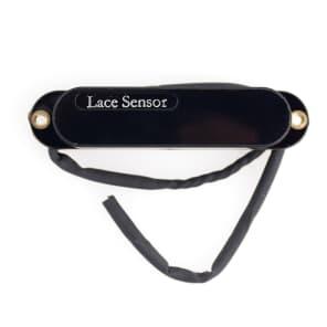 Lace Sensor Silver RW/RP w/Black Cover Guitar Pickup