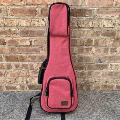 Kala Deluxe Tenor Cloth Case, Red