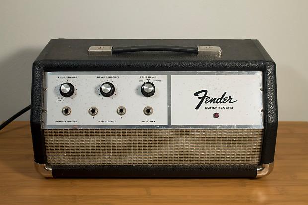 Fender Echo/Reverb Unit Silverface For repair | Reverb