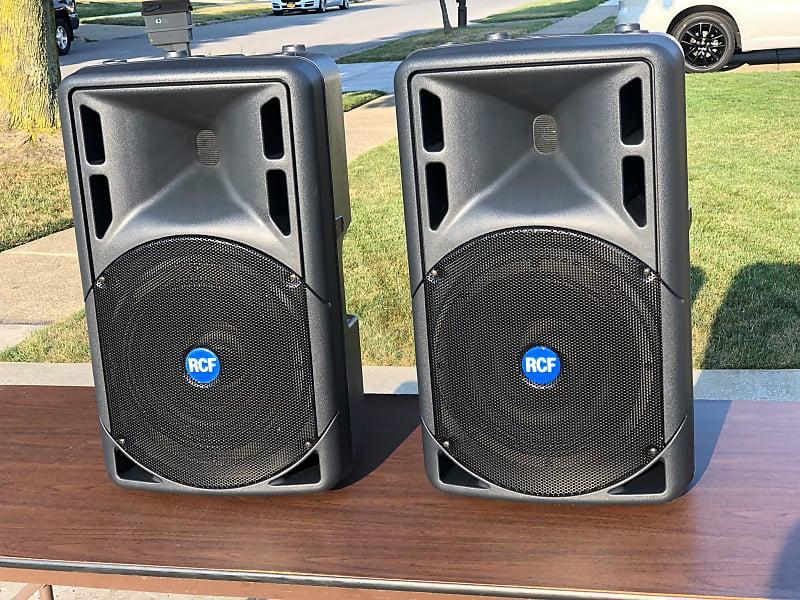 RCF ART-322A Full-Range Speaker Cabinets - One Pair