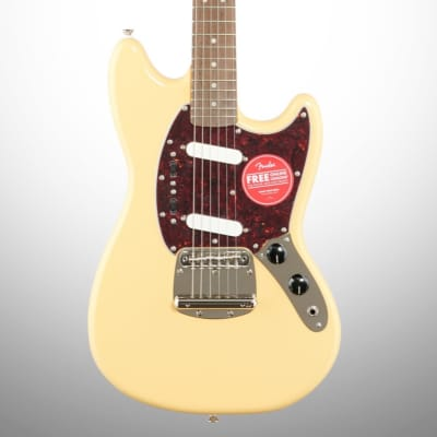 Squier Classic Vibe '60s Mustang Electric Guitar, Vintage White