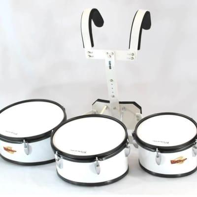 Trixon Field Series II Marching Toms Set of 3 White