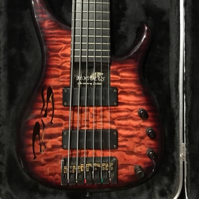 Modulus  25th Anniversary Quantum 6 2005 Sienna Burst for sale