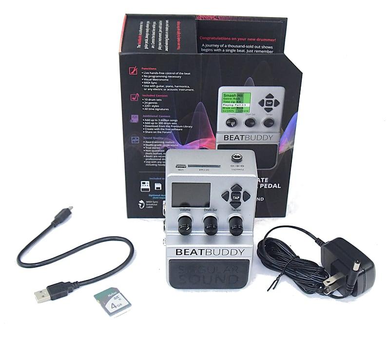 singular sound beatbuddy drum machine pedal used reverb. Black Bedroom Furniture Sets. Home Design Ideas